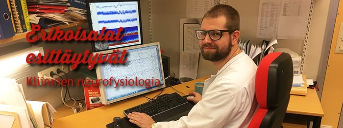 Erikoisalat esittäytyvät: Kliininen neurofysiologia