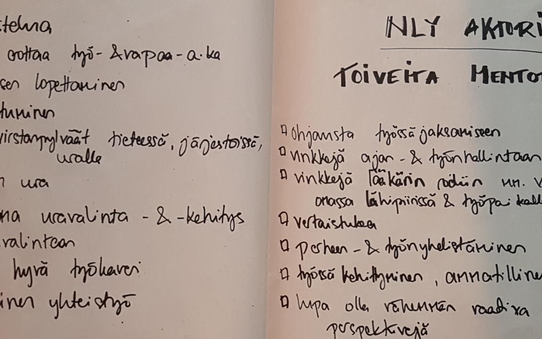 Mentoroinnin aloitustapaaminen Jyväskylässä