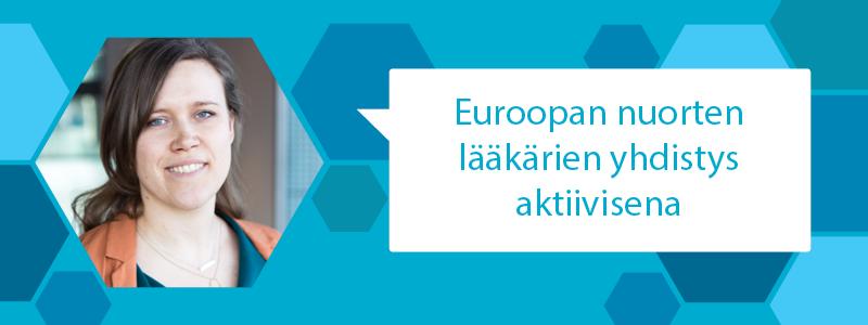 Euroopan nuorten lääkärien yhdistys aktiivisena