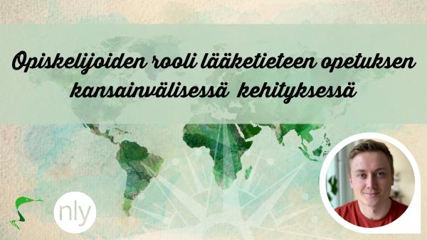 Opiskelijoiden rooli lääketieteen opetuksen kansainvälisessä kehityksessä