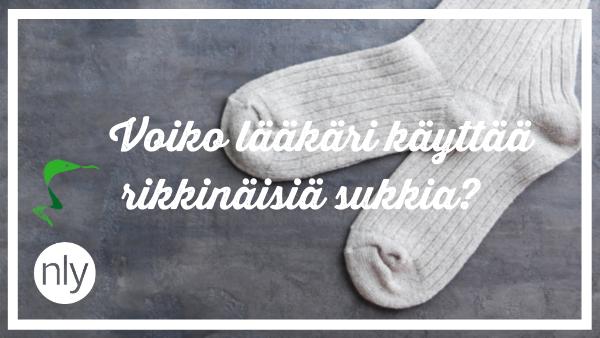 Voiko lääkäri käyttää rikkinäisiä sukkia?
