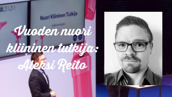 Vuoden nuori kliininen tutkija: Aleksi Reito